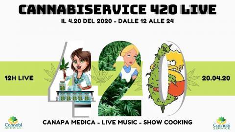CANNABISERVICE 420 LIVE