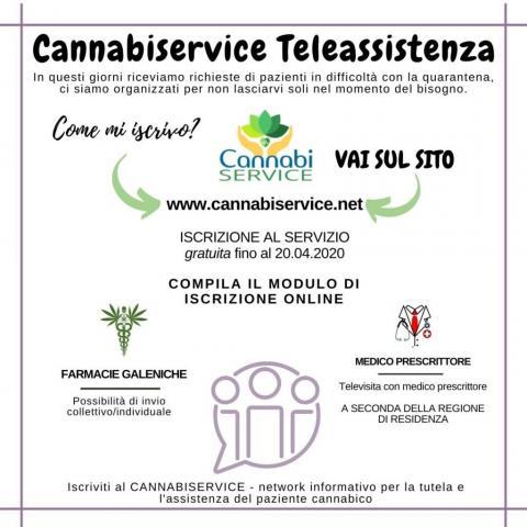 teleassistenza cannabis terapeutica